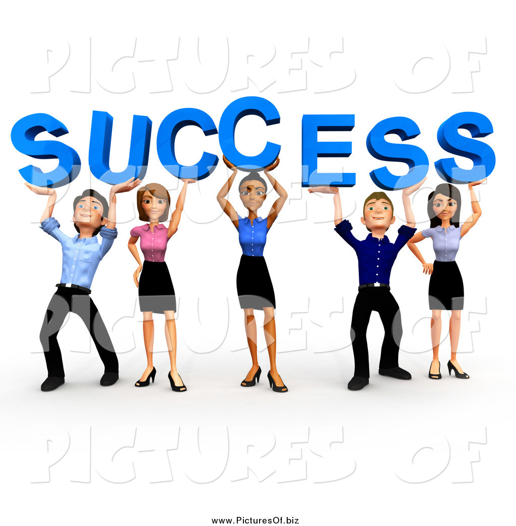 clipart of a 3d business team holding up success by andresr 504 rh picturesof biz teamwork clipart free download free clipart great teamwork