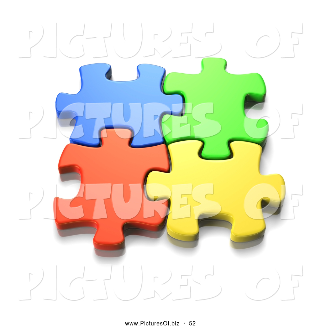 Jigsaw Puzzle Pieces Coming Together Jigsaw Puzzle Pieces