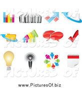 February 12nd, 2014: Vector Clipart of Business and Web Icons by Andrei Marincas